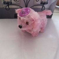 Jual Mainan anak anjing / animal anjing bisa jalan dan bersuara Murah