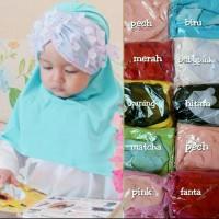Jual Jilbab Baby Syria Renda Jasmin/Kerudung Anak/Hijab Bayi Newborn/Khimar Murah