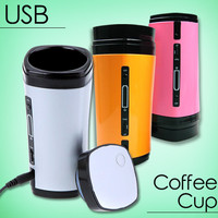 Jual USB cofee Cup auto stir  gelas penghangat kopi murah dan  berkualitas Murah