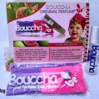 Bouccha parfum anak roll on asli non alkohol *Cheer Red Guava