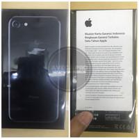 iPhone 7 128 Gb JETBLACK BNIB garansi resmi ibox