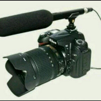 mic interview profesional SHURE KSM 888.. shortgun video kamera...DsLR