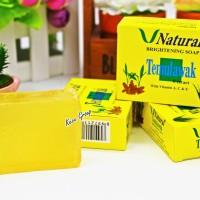 Sabun Temulawak V NATURAL BPOM V Natural Whitening Soap Temulawak