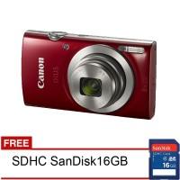 Jual Canon Ixus 185 - 20MP - Free SDHC 16GB Murah