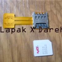 Dual Sim Hybrid Converter - Nano to Micro - Xiaomi Oppo - Dual Adapter