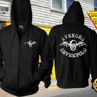 Jaket Sweater Zipper Hoodie Gambar Desain Band Avenged Sevenfold 1