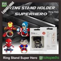 Jual Ring Stand Holder Super Hero Batman Superman Captain America SuperHero Murah