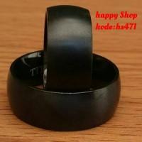 cincin couple kawin/tunangan,bahan titanium+ukir nama