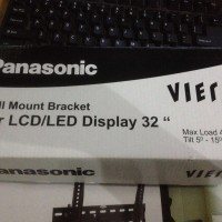 Wall Bracket Braket Breket Merk Panasonic TV LED/LCD Display 32 inch