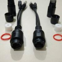 Kabel Poe Splitter Waterproof / Kabel Poe Outdoor / Cable Poe Set