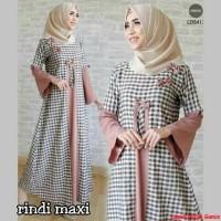 Rindi maxy=macam macam baju gamis terbaru=baju muslim tanah abang=AL