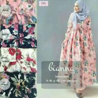 New Biana Dress - Long Dress Syariah - Fashion Wanita Muslimah Modern
