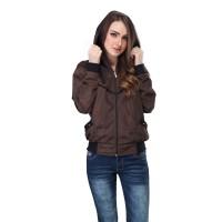 Jaket / Sweater Hoodie Wanita - SMD 153