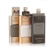 64GB OTG iPhone FlashDrive Flashdisk Micro USB 6 7 Plus 6s 5 5S iPad