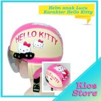 Jual Helm anak karakter motif hello kitty Murah