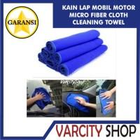 Jual Kain Lap Mobil Lap Motor Micro Fiber HALUS Wash Cloth Cleaning Towel Murah