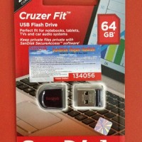 Flashdisk Sandisk 64Gb Cruzer Fit CZ33 Usb Flash Drive Original