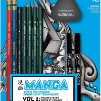 Prismacolor Scholar Manga Kit 10 Pieces Set