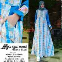 miss ryu dress ori by nabtik 2warna supplier busana muslim