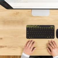 Logitech MK240 Nano Receiver Wireless Mouse Keyboard BLACK