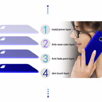 OPPO F1 Plus/R9 Baby Skin Ultra Thin Hard Case Blue 119301