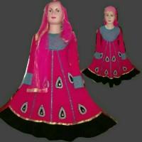Jual Gamis anak/ dress anak/ baju muslim india anak perempuan Murah