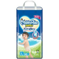Jual PAMPERS MAMYPOKO PANTS EXTRA DRY L30 POPOK CELANA DIAPERS ISI 30PC NEW Murah