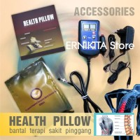 HEALTH PILLOW Bantal Kesehatan Tulang Belakang | Terapi Sakit Pinggang