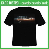 Jual Kaos Fast & Furious 17 CI17 Oblong Distro Murah