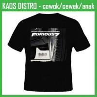 Jual Kaos Fast & Furious 12 CI12 Oblong Distro Murah