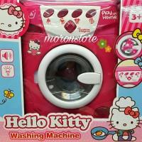 Mesin Cuci Hello Kitty Ukuran Besar Fungsi Lengkap Seperti sungguhan
