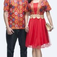Jual batik couple dress/seragam new/gaun/tile/jumbo Murah