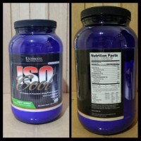 ULTIMATE NUTRITION ISO COOL 2 LBS ISOCOOL WHEY PROTEIN