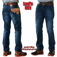 Levis 501 SNOW BLUE (bio wash), Tag Label USA, Jeans Levis 501