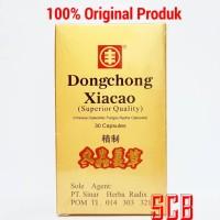 Dongchong Xiacao / Cordyceps (GOLD) - Obat Herbal Paru-paru