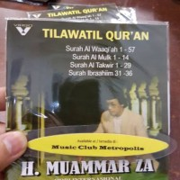 CD EKONOMIS H MUAMMAR ZA - TILAWATIL QURAN SURAH AL WAAIQIAH 1-57
