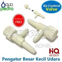 Kran Udara Plastik Aerator ACV-01