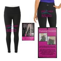 Legging Yoga / Fitness / Senam Black Tummy Control