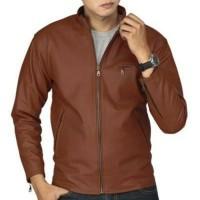 Jual jaket pria kulit semi/jaket formal/jaket motor Murah
