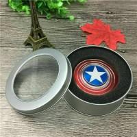 FIDGET SPINNER AMERICA Fidget Spinner Kapten America Mainan anak toys