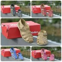 Jual Sepatu lebaran sendal wanita simpel grade original kickers premium rda Murah