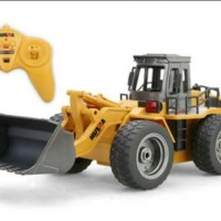 RC Metal Bulldozer HuiNa Toys No.1520 6 Channel 1/14 (Original)
