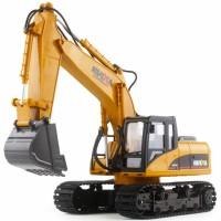 RC Metal Excavator HuiNa Toys No.1550 15 Channel 1/12 (Original)