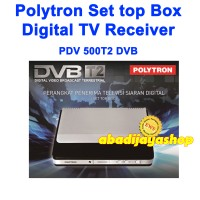 Polytron PDV 500T2 DVB Set top Box digital TV receiver (PROMO)