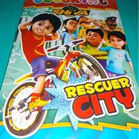 buku mewarnai anak motif film kartun serial tv shiva