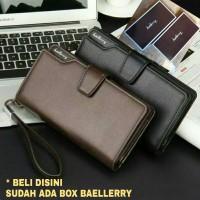Baellerry Dompet panjang cowok / pria premium import, 22 slot card