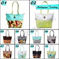 Jual Tas Bahu Shopper bag Tote Bag etnik handmade Mudagaya Murah