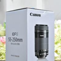 [NEW] Canon EFS 55-250mm IS STM @Gudang Kamera Malang