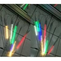 lampu pohon hujan atau meteor Set warna warni