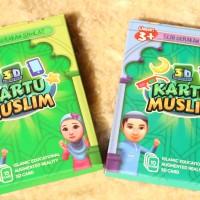Jual Edukasi 3D - Kartu Muslim Anak Murah